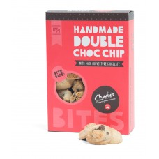 Charlies 125g Double Choc Chip Bites  - Carton of 12 - $4.35/Unit + GST