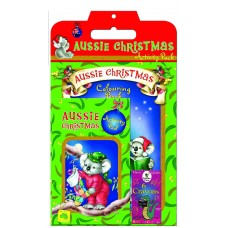 Children's Activity Packs - Aussie Christmas - Carton of 100 units  - $4.20/Unit + GST