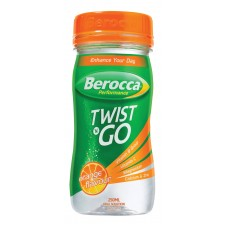 Berocca Twist N Go Orange  - Carton of 12 - $3.00/unit + GST