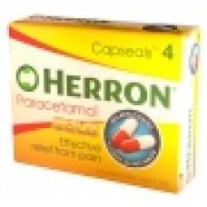 Herron Paracetamol Handy 4 Pack - Carton of 96 **CURRENTLY UNAVAILABLE**