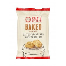 Kez's Salted Caramel & White Chocolate Bites 80g bag  - Carton of 30 - $1.75/Unit + GST