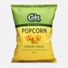 Cobs Naturals Popcorn Cheddar Cheese 30g  - Carton of 30 - $1.00/Unit + GST