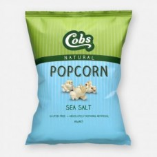 Cobs Naturals Popcorn Sea Salt 20g  - Carton of 12 - $1.00/Unit + GST