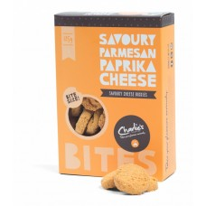 Charlies 125g Savoury Paprika Cheese Bites  - Carton of 12 - $4.35/Unit + GST