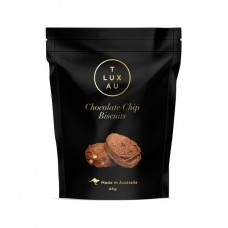 TLUXAU Chocolate Chip Biscuits - Small 44g - Carton of 6 - $2.50/unit + GST