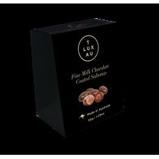 TLUXAU Chocolate Coated Sultanas Small 30g - Carton of 6 - $3.40/unit + GST