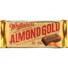 Whittakers Slab Almond - Carton of 50 - $1.60/unit + GST