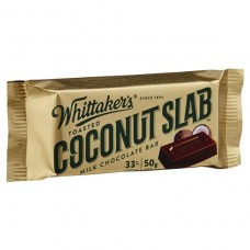 Whittakers Slab Coconut - Carton of 50- $1.60/unit + GST