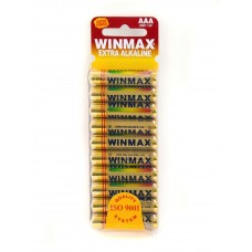Extra Alkaline AAA Battery - 10 Pack - Carton of 48 - $5.00/Unit + GST