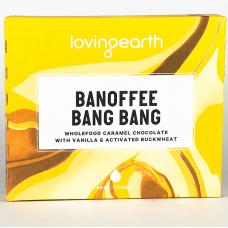 Loving Earth Banoffee Bang Bang 45g  - Carton of 88 - $3.50/Unit + GST