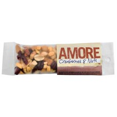 Amore Snack Packs - Cranberries & Nuts - Carton of 120 - $1.95/Unit + GST
